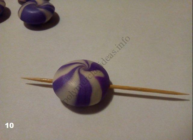 """10. tutorial on polymer clay Technique """"Lentil"""""""