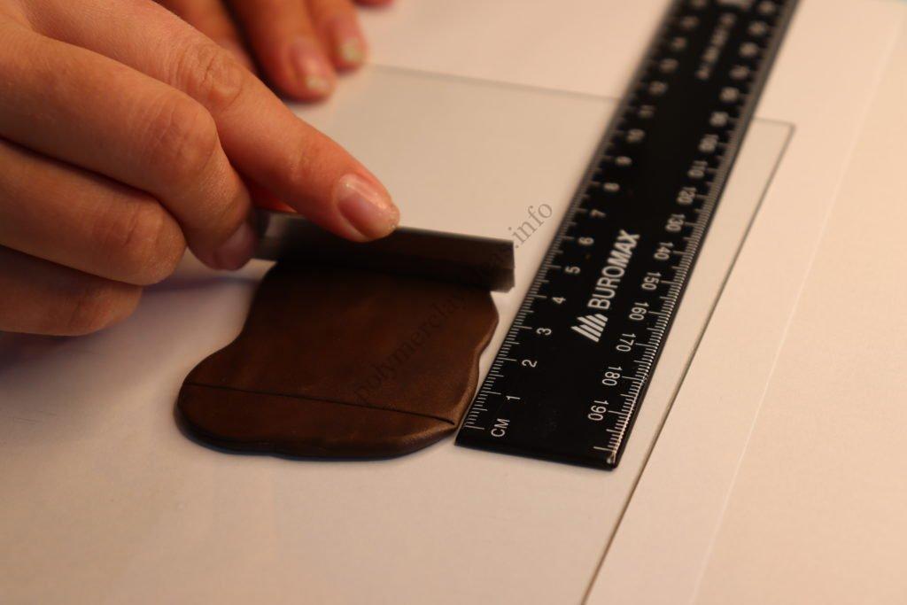 4 Chocolate. Photo tutorial on polymer clay food
