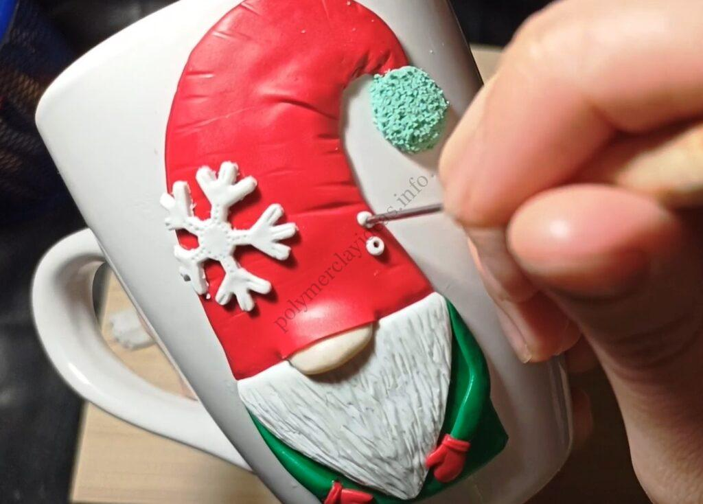 10 Polymer clay modeling lesson: Christmas decor