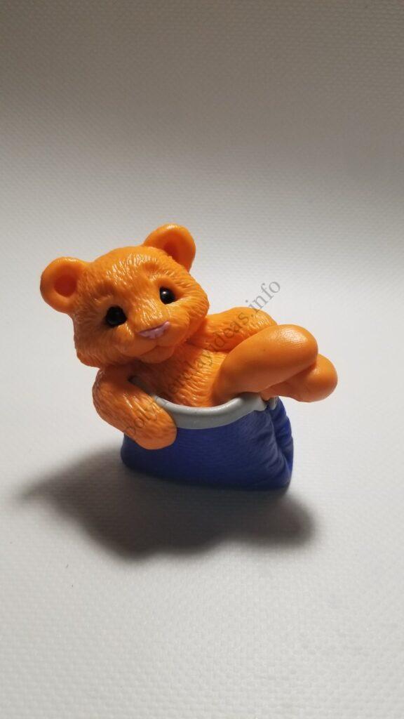 19 Polymer clay cute tiger cub