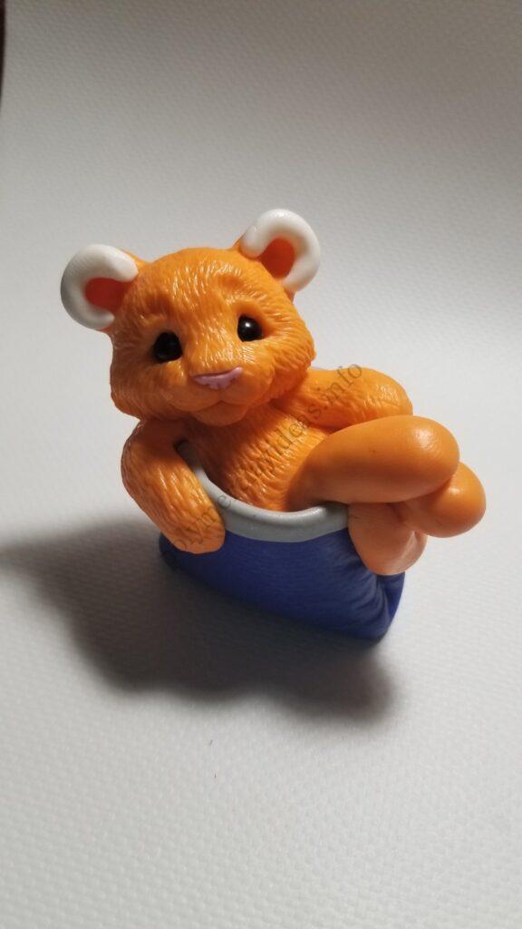 20 Polymer clay cute tiger cub