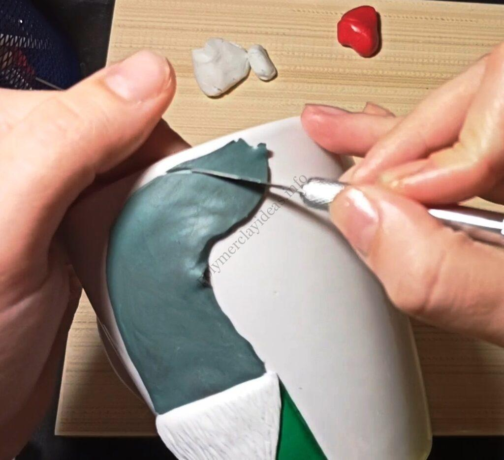 3 Polymer clay modeling lesson: Christmas decor