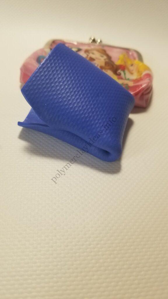 7a Polymer clay cute souvenir made. Polymer clay purse tutorial