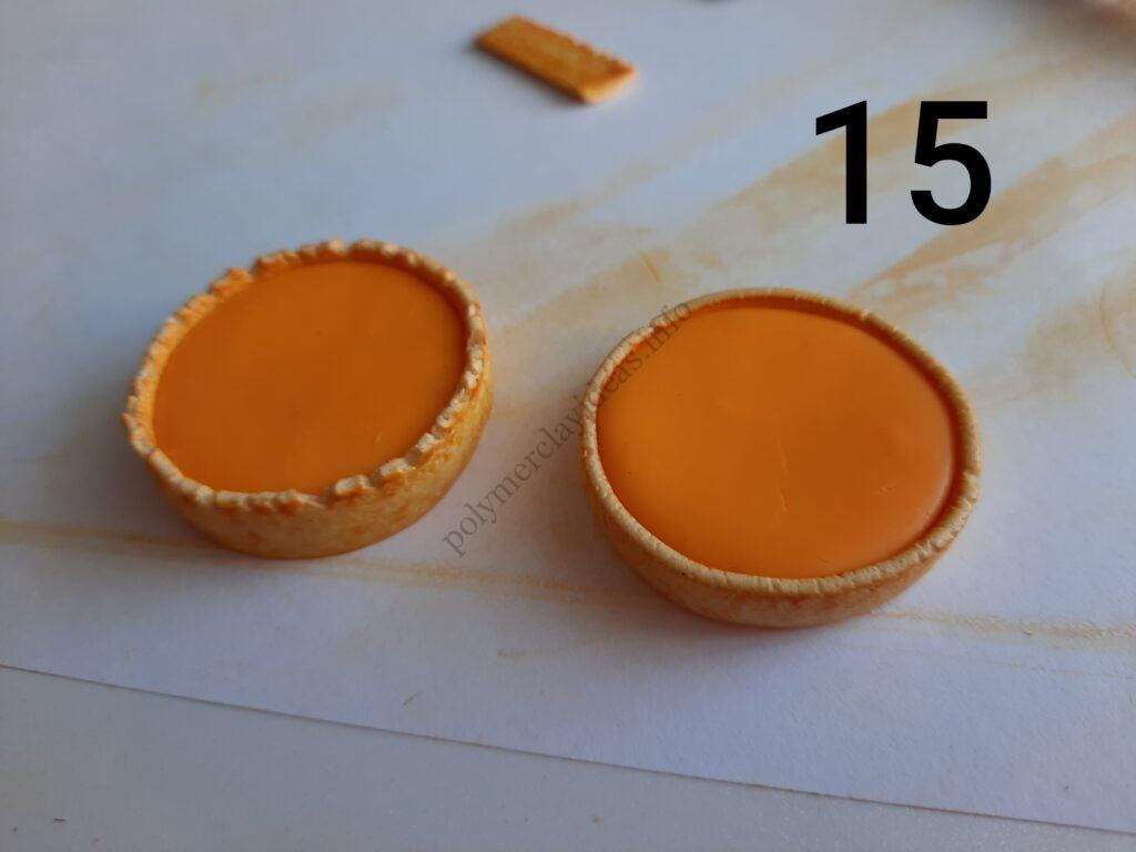 Photo 15. Polymer clay cake tutorial