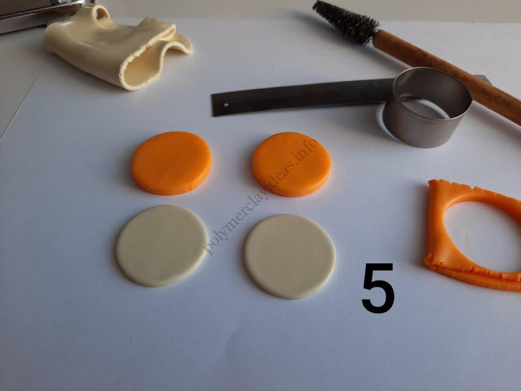 Photo 5. Polymer clay cake tutorial