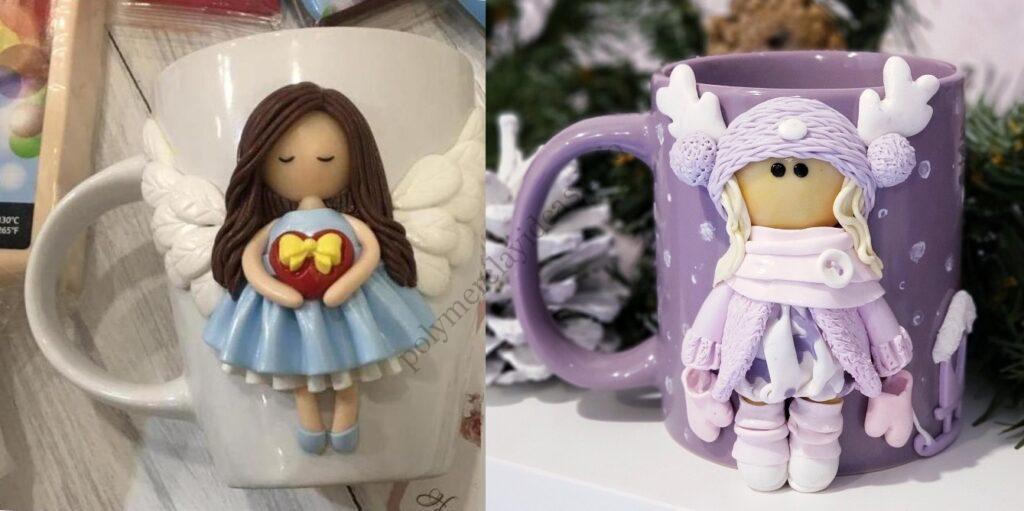 Polymer clay decor: The Dolls