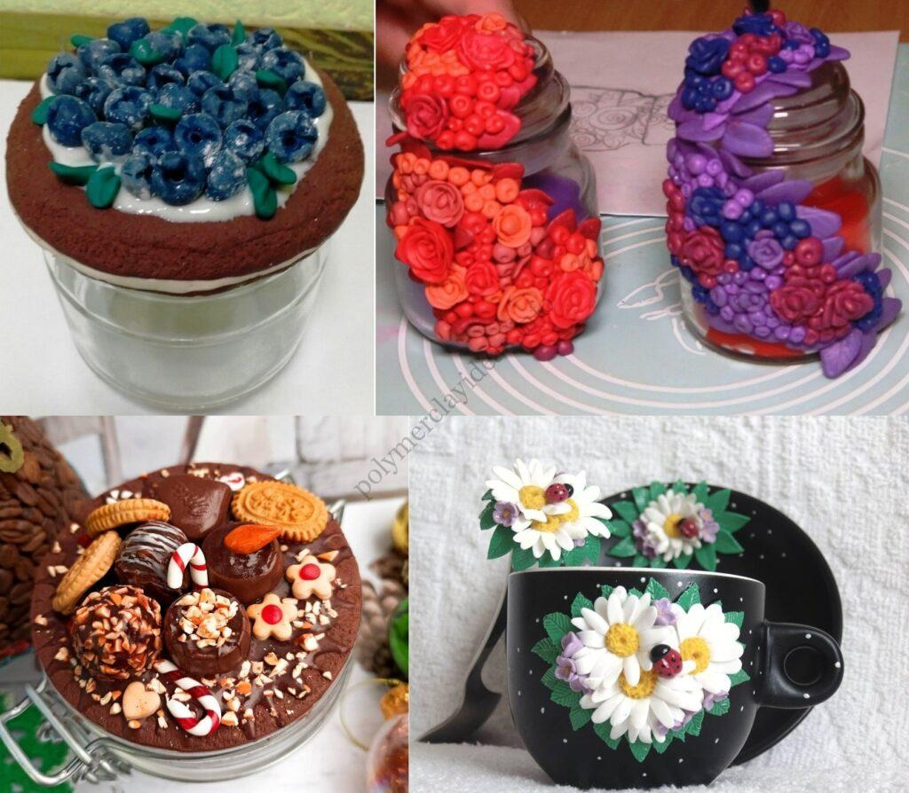 Polymer clay decor ideas